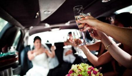 Stretch Limo for Wedding from Boston Limo